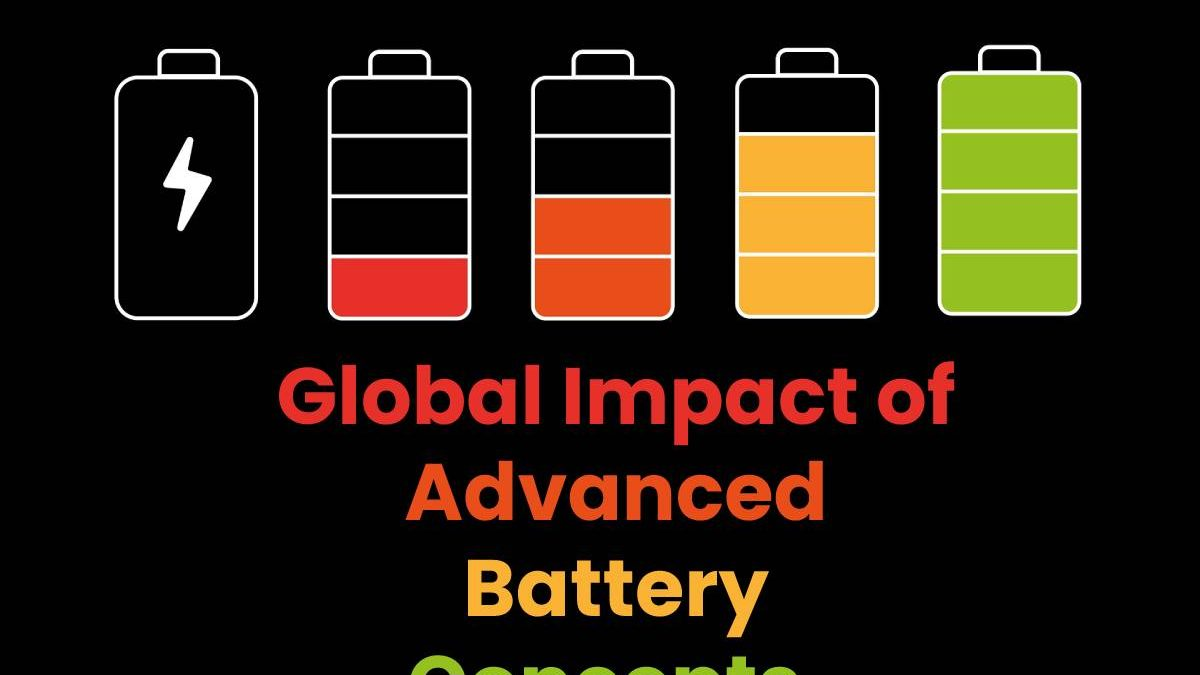 Global Impact of Advanced Battery Concepts.