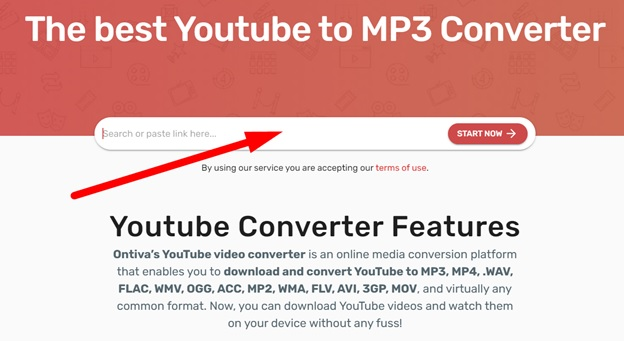How to Use Ontiva for YouTube to MP3 Conversion?
