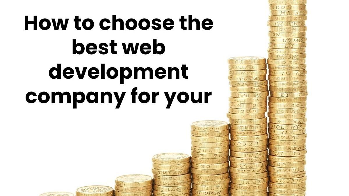 How to choose the best web development company for your business growth?