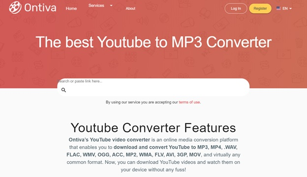 Ontiva – The Best Online YouTube to MP3 Converter for You