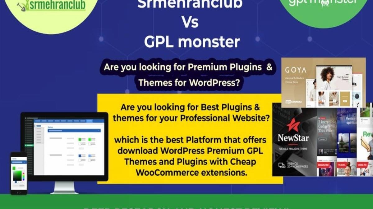 Best GPL Monster Alternative site for Themes & Plugins – Honest Review