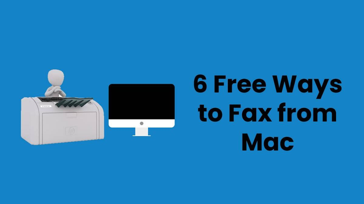 6 Free Ways to Fax from Mac
