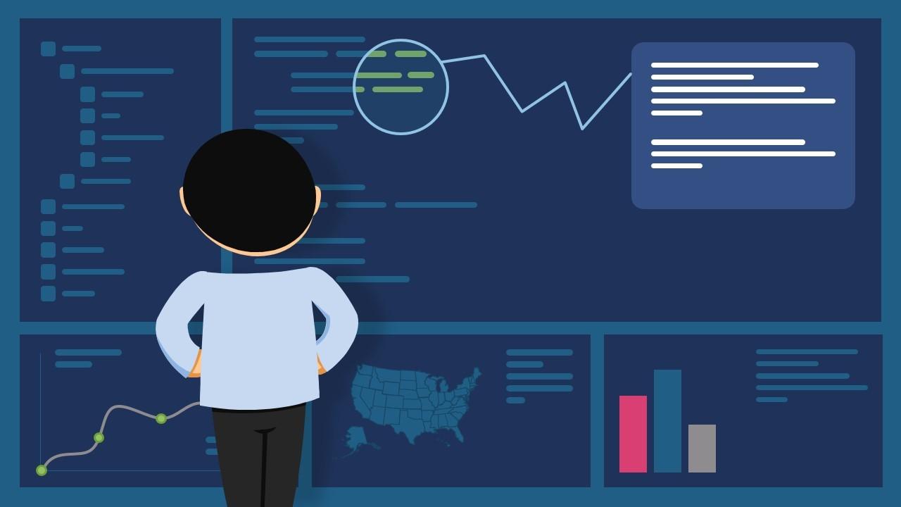 Bug Fix Metaphor Illustration for PowerPoint
