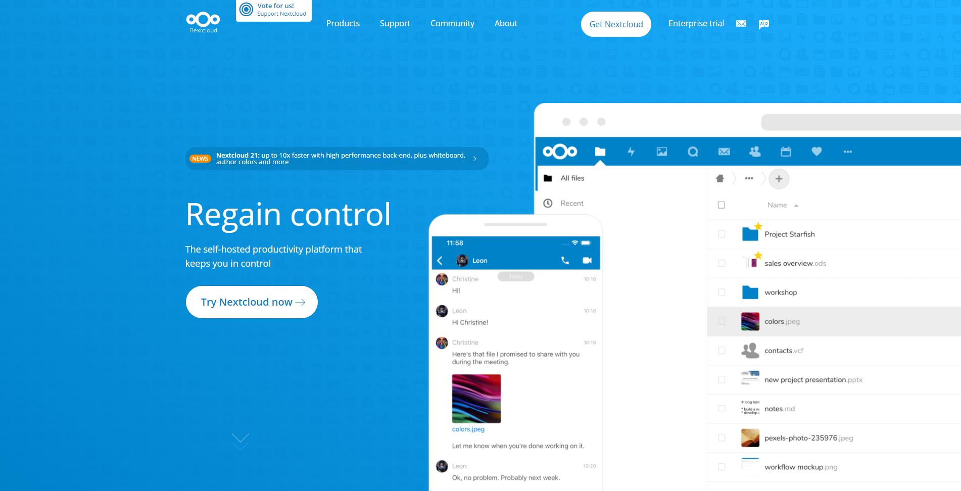 Create a Private Cloud Server