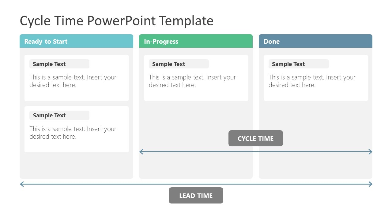 Cycle Time PowerPoint Template