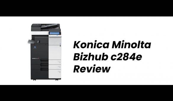 Konica Minolta Bizhub c284e Review