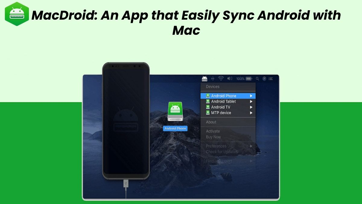 MacDroid: An App that Easily Sync Android with Mac