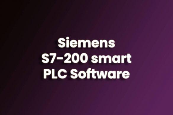 Siemens S7-200 smart PLC Software