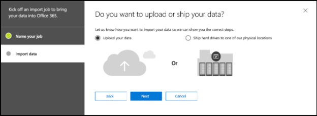 Upload your data