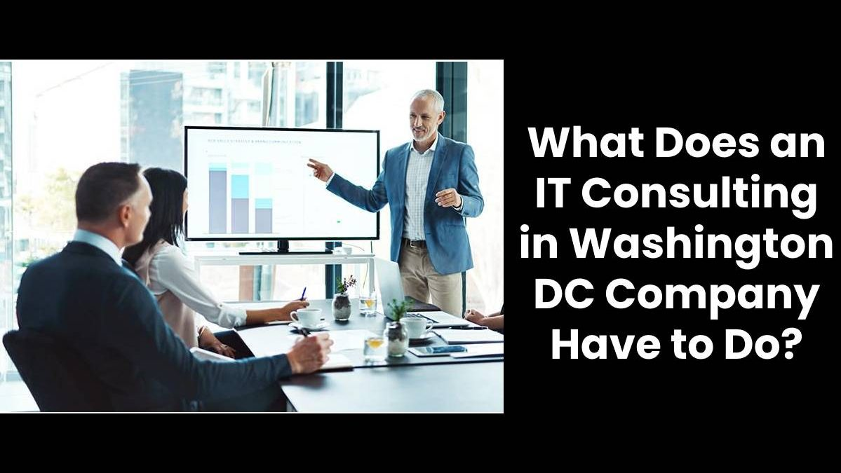 What Does an IT Consulting in Washington DC Company Have to Do in Order to Stay Ahead of The Competition?