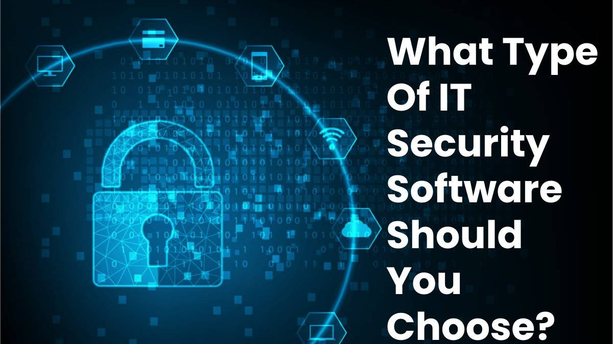 What Type Of IT Security Software Should You Choose?