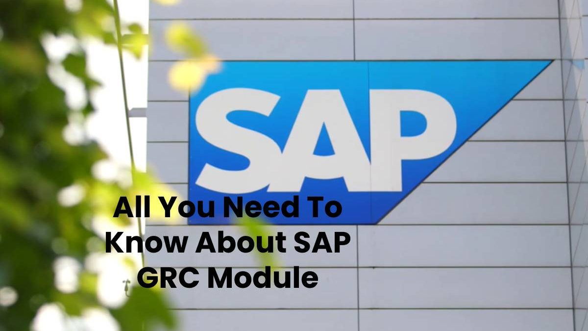 All You Need To Know About SAP GRC Module