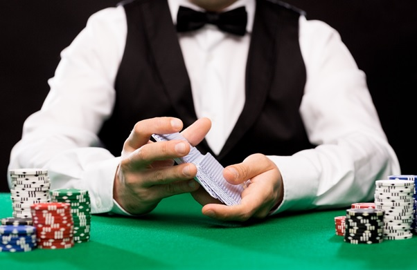 Brick-and-mortar vs. live: the life of the casino dealer