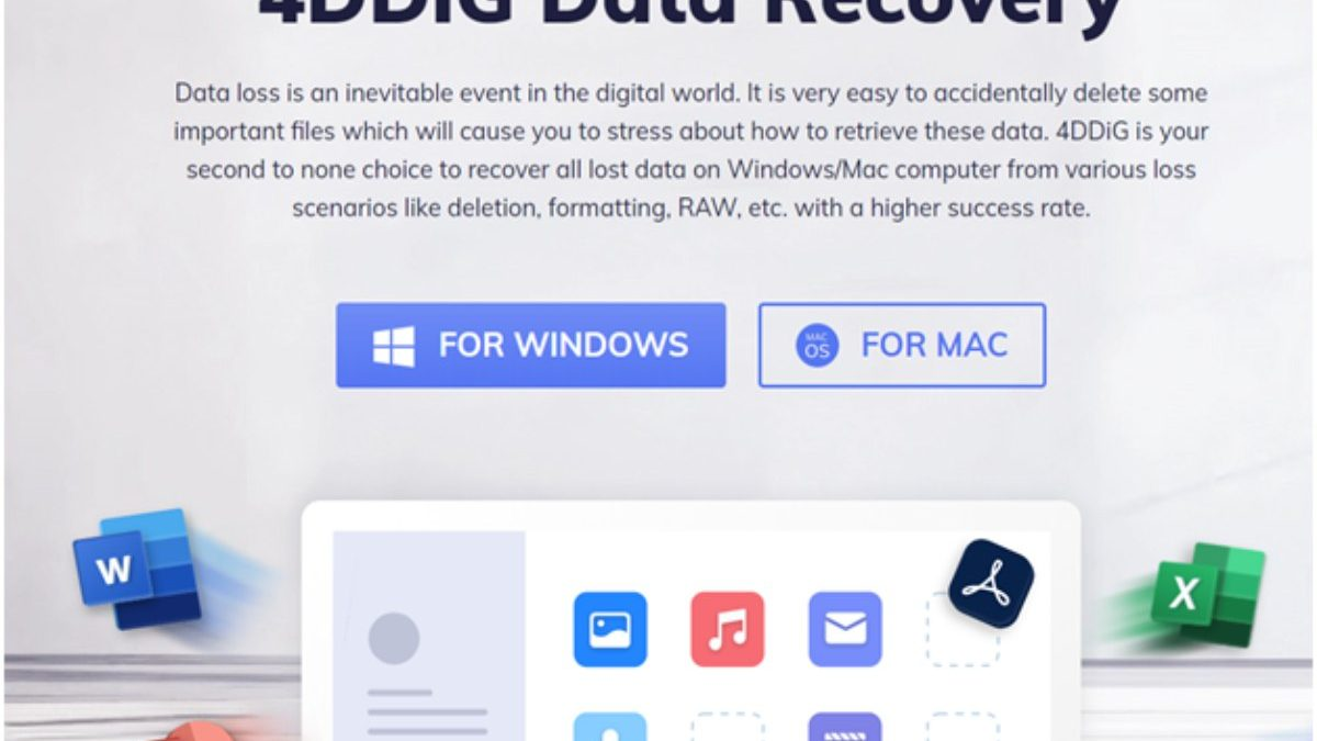 Tenorshare 4DDiG Review: Popular Data Recovery Tool for Recovering Data Lost Due to Any Reason