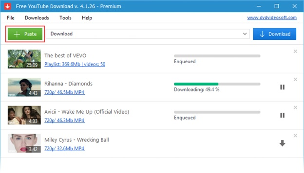DVDVideosoft YouTube Download
