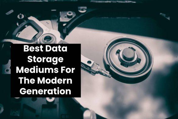 Best Data Storage Mediums For The Modern Generation