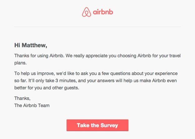 Send Customer Feedback Surveys