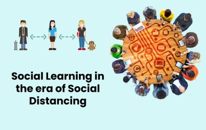 Social Learning in the era of Social Distancing